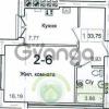 Продается квартира 1-ком 34 м² Левитана