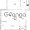 Продается квартира 2-ком 68 м² Карамзина