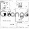 Продается квартира 1-ком 44 м² Московский проспект