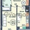 Продается квартира 1-ком 36 м² Динамо