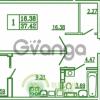 Продается квартира 1-ком 38 м² Новгородская