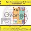 Продается квартира 1-ком 45 м² ул. Барбюса Анри, 52/1, метро Печерская