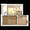 Продается квартира 1-ком 48 м² ул. Кургузова, 2
