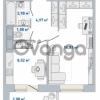 Продается квартира 1-ком 36.44 м² Кушелевская дорога 5к 5, метро Лесная