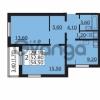 Продается квартира 2-ком 52.8 м² Южное шоссе 110, метро Международная