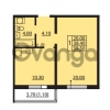 Продается квартира 1-ком 38.4 м² Южное шоссе 110, метро Международная
