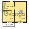 Продается квартира 1-ком 37.8 м² Южное шоссе 110, метро Международная