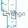 Продается квартира 2-ком 57.38 м² Петровский бульвар 5, метро Девяткино