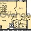 Продается квартира 2-ком 48.05 м² Приреченская улица 1, метро Рыбацкое