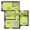 Продается квартира 3-ком 79.45 м² Витебский проспект 101к 4, метро Купчино