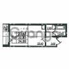 Продается квартира 1-ком 34.69 м² проспект Маршала Блюхера 12Б, метро Лесная