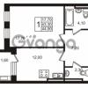 Продается квартира 1-ком 43.3 м² Приморский проспект 44, метро Старая деревня