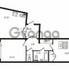 Продается квартира 2-ком 83.3 м² Приморский проспект 44, метро Старая деревня