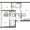 Продается квартира 2-ком 104.6 м² Приморский проспект 44, метро Старая деревня