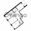Продается квартира 3-ком 73.8 м² Приозерское шоссе 1, метро Парнас