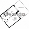 Продается квартира 1-ком 38.92 м² Приозерское шоссе 1, метро Парнас