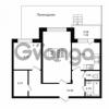 Продается квартира 2-ком 58.9 м² Приозерское шоссе 1, метро Парнас
