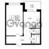Продается квартира 1-ком 38.9 м² Приозерское шоссе 1, метро Парнас