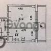 Продается квартира 1-ком 42 м² Сетуньский 2-й Пр. 11, метро Парк победы