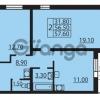 Продается квартира 2-ком 56.5 м² Муринская дорога 7, метро Гражданский проспект