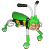 Детский сидячий 4х колесный самокат со световыми/звуковыми эффектами