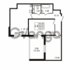 Продается квартира 2-ком 69.05 м² улица Пионерстроя 27, метро Проспект Ветеранов
