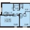 Продается квартира 2-ком 60.1 м² Муринская дорога 7, метро Гражданский проспект