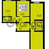 Продается квартира 3-ком 73 м² Муринская дорога 7, метро Гражданский проспект