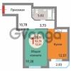 Продается квартира 1-ком 50 м² им Александра Покрышкина ул, 3