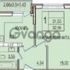 Продается квартира 1-ком 33 м² Восточно-Кругликовская, 70