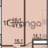 Продается квартира 1-ком 42 м² Красноармейская улица, 24