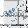 Продается квартира 1-ком 51 м² Кожевенная улица, 60