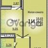 Продается квартира 1-ком 37 м² Кореновская улица, 2лит1