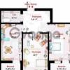 Продается квартира 2-ком 57 м² гаражный переулок, 9