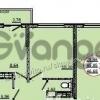 Продается квартира 2-ком 50 м² 2-й проезд Дежнева, 129