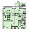 Продается квартира 1-ком 34 м² Красная, 66