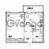Продается квартира 1-ком 43 м² улица Айвазовского, 116лит1