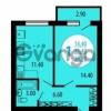 Продается квартира 1-ком 37 м² улица Академика Королева, 98