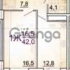 Продается квартира 1-ком 43 м² Симиренко, 40