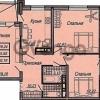 Продается квартира 3-ком 75 м² Казбекская, 50