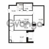 Продается квартира 2-ком 63.66 м² улица Адмирала Черокова 18к 3, метро Проспект Ветеранов