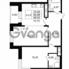 Продается квартира 2-ком 66.88 м² улица Костюшко 19, метро Московская
