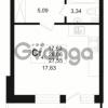 Продается квартира 1-ком 26.06 м² бульвар Менделеева 5, метро Девяткино