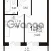 Продается квартира 1-ком 30.75 м² бульвар Менделеева 5, метро Девяткино