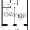 Продается квартира 1-ком 31.45 м² бульвар Менделеева 5, метро Девяткино