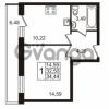 Продается квартира 1-ком 32.5 м² Охтинская аллея 1, метро Девяткино