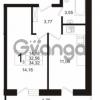 Продается квартира 1-ком 32.56 м² бульвар Менделеева 5, метро Девяткино
