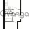 Продается квартира 1-ком 42.42 м² Охтинская аллея 1, метро Девяткино