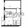 Продается квартира 2-ком 56.34 м² Охтинская аллея 1, метро Девяткино