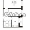 Продается квартира 2-ком 49.19 м² Охтинская аллея 1, метро Девяткино